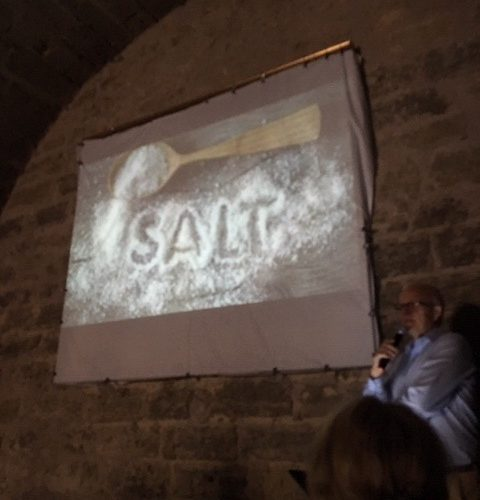 """Foredrag i """"Salthuset"""" i Pezenas og månedsfrokost, 9. oktober"""