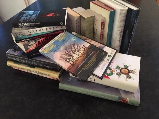 Berättar- och bokbytarkväll