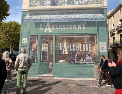 Månadslunch och stadsvandring med väggmålningar i Béziers